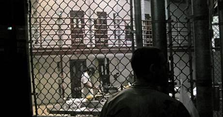 Věznice Guantánamo. Na snímku je takzvaný Tábor VI., kde bylo k 23. říjnu 2010 sedmdesát vězňů.