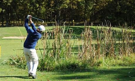 Obtížné golfové rány - vysoká rána.