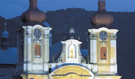 Poutní bazilika Navštívení Panny Marie v Hejnicích.