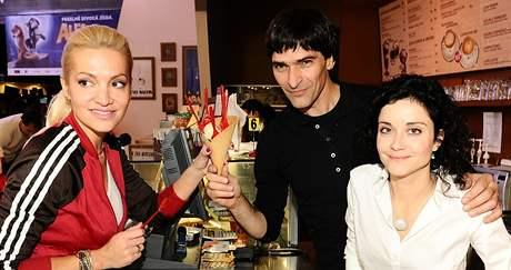 Dara Rolins, Zdeněk Podhůrský a Lucie Šoralová