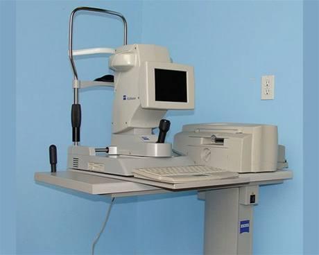 Zlínské oční centrum - přístroj