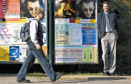 Lídr sdružení Liberec občanům Jiří Šolc je s 214 centimetry nejvyšším politikem ve městě