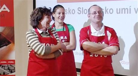 Český tým v soutěži Česko-Slovensko umí vařit