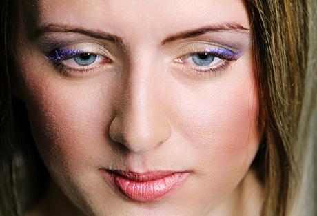 Make-up proměna - líčení pod brýle, po proměně