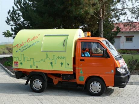 Piaggio Porter Tipper electric