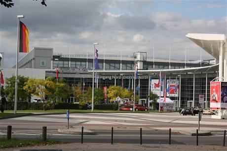 Motoveletrh Intermot v Kolíně nad Rýnem