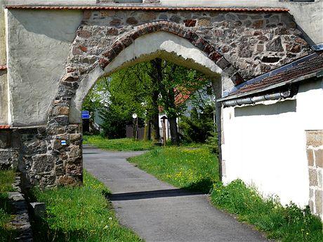 Klášter u Nepomuka, torzo klášterních zdí