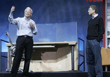 Ray Ozzie a Bill Gates v roce 2005