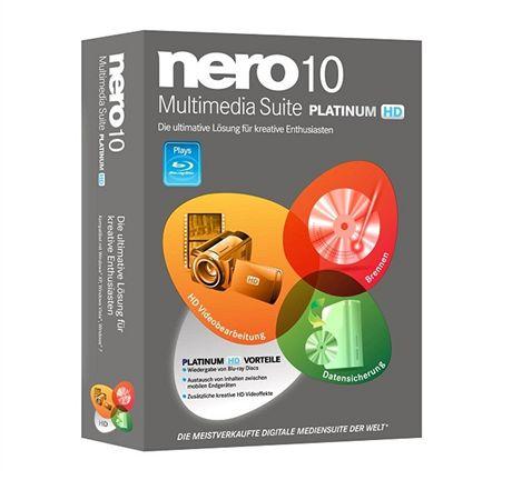 Nero Multimedia Suite 10 Platinum HD
