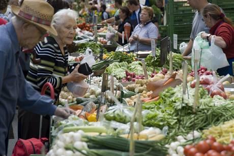 Naschmarkt, nejoblíbenější trh ve Vídni