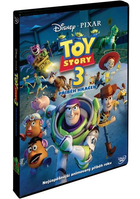 DVD Toy Story 3 - příběh hraček