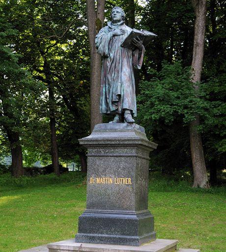 Aš, Lutherova socha