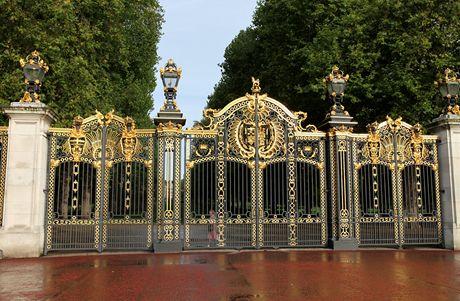 Londýn, honosný vstup do Green parku