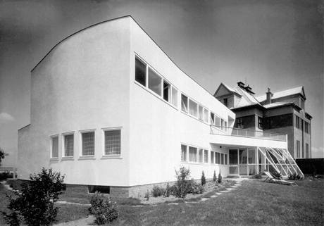 Vila Františka a Anežky Kremerových, Hlučín, Lubomír a Čestmír Šlapetové, 1933–1934