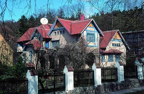 Vila Dušana Jurkoviče, D. Jurkovič, 1905-1906, Brno