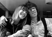 Anita Pallenberg a Keith Richards