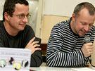 20. Podzimní knižní veletrh v Havlíčkově Brodě - Michal Viewegh a Martin Reiner