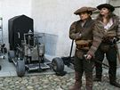 Filmový štáb natáčí na zámku v Telči historický seriál Borgia.