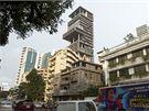 Jeden z nejbohatších mužů Indie postavil pro svou rodinu v Bombaji 173 metrů