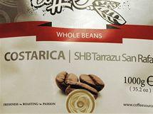 Značka SHB znamená, že byla káva sklízena výš než v 1 500 metrech