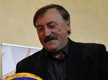 Antonín Panenka byl jedním z losujících ME volejbalistů v České republice a Rakousku