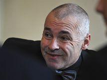 Zdeněk Haník, předseda Českého volejbalového svazu, během losování ME 2011