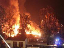 Požár na pražské Florenci, 27.10.2010