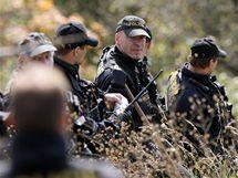 Policisté pokračují v pátrání po pohřešované Aničce v pražské Troji. (22. října 2010)