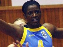 Ženský basketbal Pardubic proti Praze