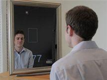Zrcadlo, které měří tep