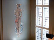 Mozaika z roku 1935 představuje boha obchodu Merkura