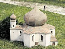 Kostel P. Marie Pomocné u Železné Rudy.
