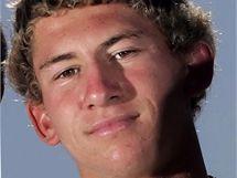 Surfař Lucas Ransom, kterého napadl u kalifornského pobřeží žralok