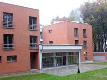 Lesní hotel ve Zlíně, který vznikl na místě proslulé Lesní kavárny.