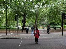 Londýn, vstup do St. James parku