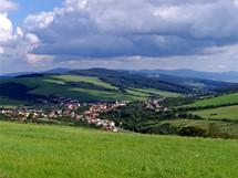 Vesnice Strání, Nová hora a Povážský Inovec