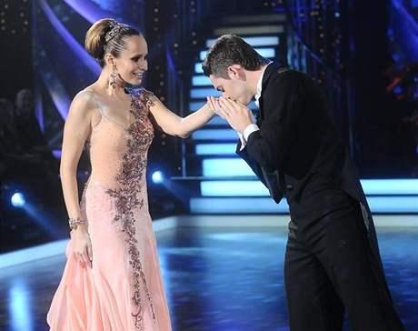 Monika Absolonová a Václav Masaryk získali od poroty nejvíc bodů