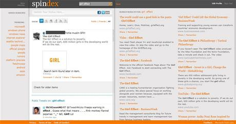 Microsoft FUSE Labs - Spindex