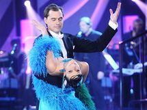 Kluk v akci Filip Sajler s taneční partnerkou Veronikou Šmikovou