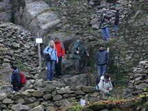 Prohlídka hradu Skály.
