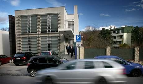 Kancelář zastřeleného slovenského právníka Ernesta Valka