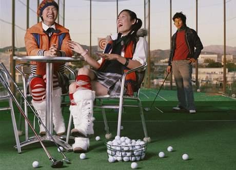 Party na golfovém driving rangi, to opravdu není ono.