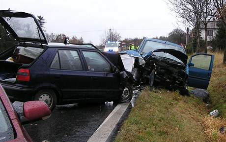 Nehoda u Strunkovic si vyžádala jeden lidský život.