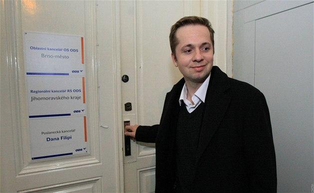 Lídr brn�nské ODS Radek Kotzian