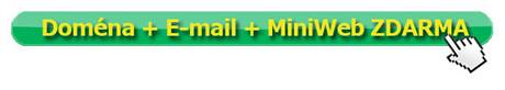 Doména + email + miniweb