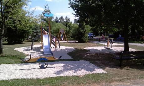 Dětské hřiště od společnosti ONYX wood