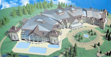 Hotel má mít 880 pokojů, dvaatřicet konferenčních sálů, několik bazénů, sauny, herny a například i plochu na bruslení.