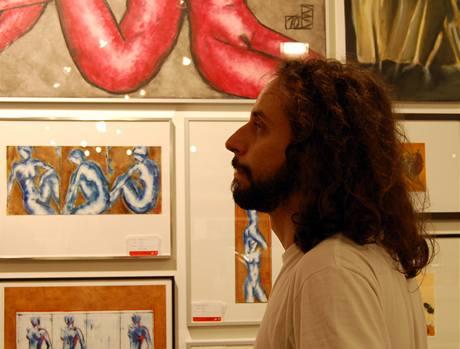 Supemarket s uměním v Berlíně