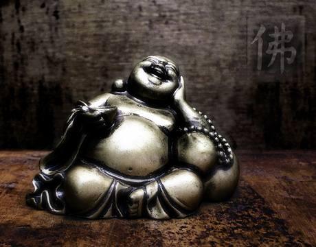 Buddha se baví