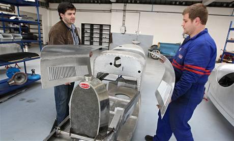 Sbírka Bugatti muzea aut Samohýl Motor Holding ve Zlíně